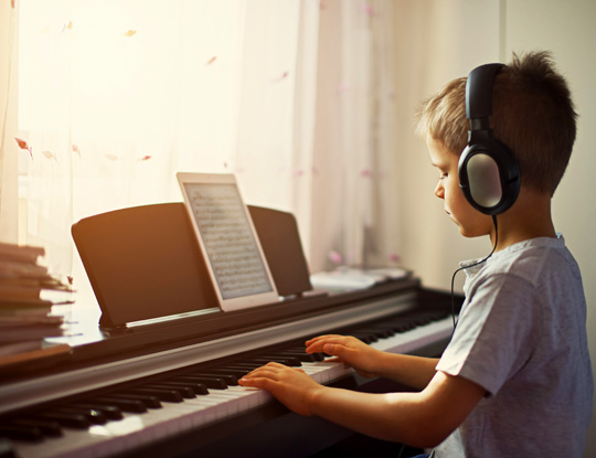 Aprende piano online
